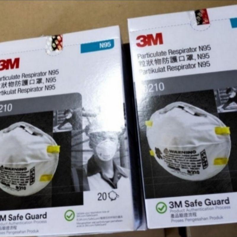 N95 Original 3m 8210 หน้ากากป้องกันฝุ่น