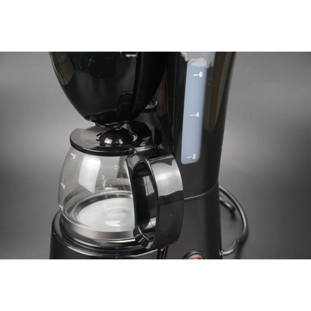 พร้อมส่ง✔ เครื่องชงกาแฟสด เครื่องทำกาแฟสด ชงกาแฟได้  6ถ้วย และ 15ถ้วย