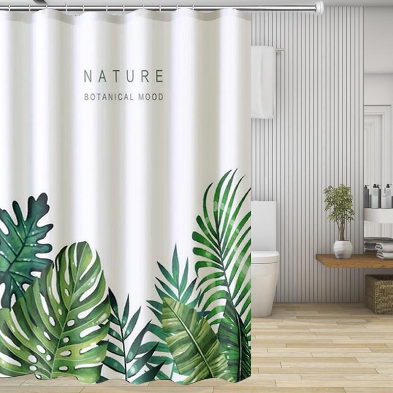 Bathroom Shower Curtain 150*150cm Bath Cutain Waterproof Polyester Fabric