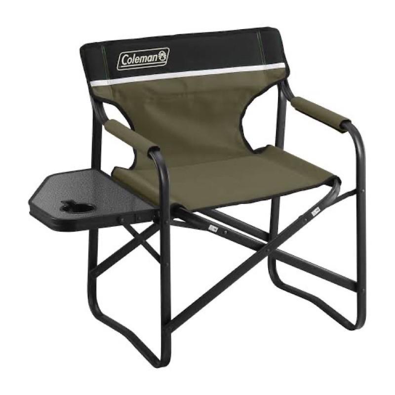 เก้าอี้ Deck Chair พร้่อมโต๊ะวางของจาก Coleman japan