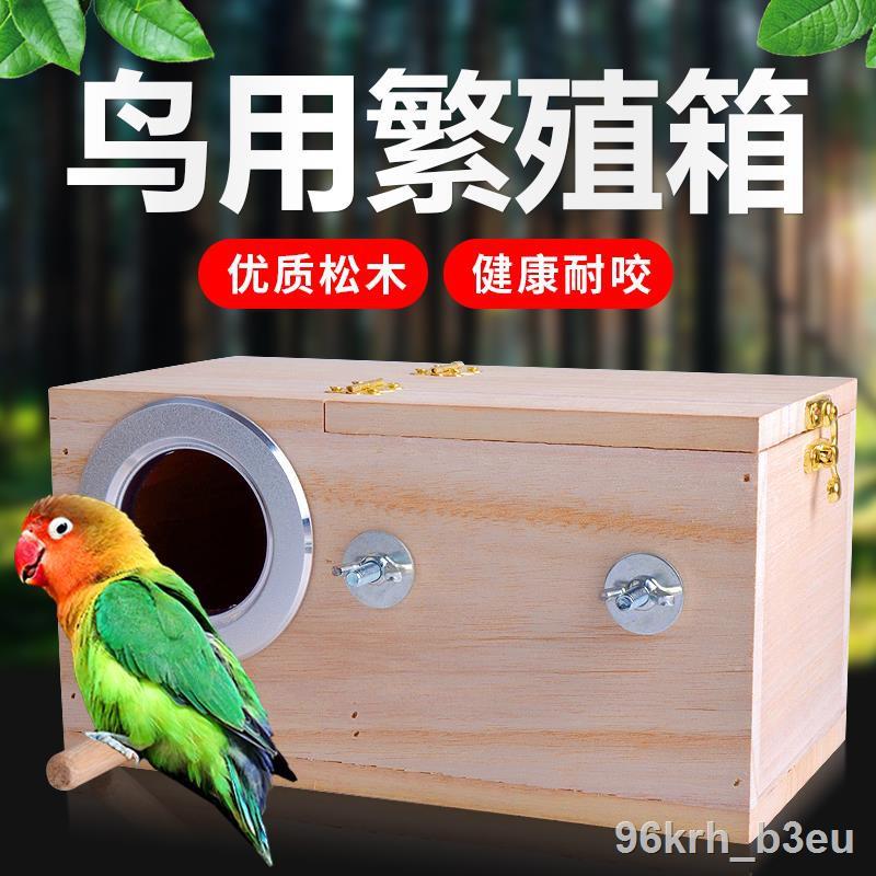 ราคาถูก+❡❏∈กล่องเพาะพันธุ์นกแก้วหนังเสือโบตั๋น Xuanfeng กล่องใส่พระ, รัง, นก ใช้อุปกรณ์ฟักไข่และให้ความอบอุ่น