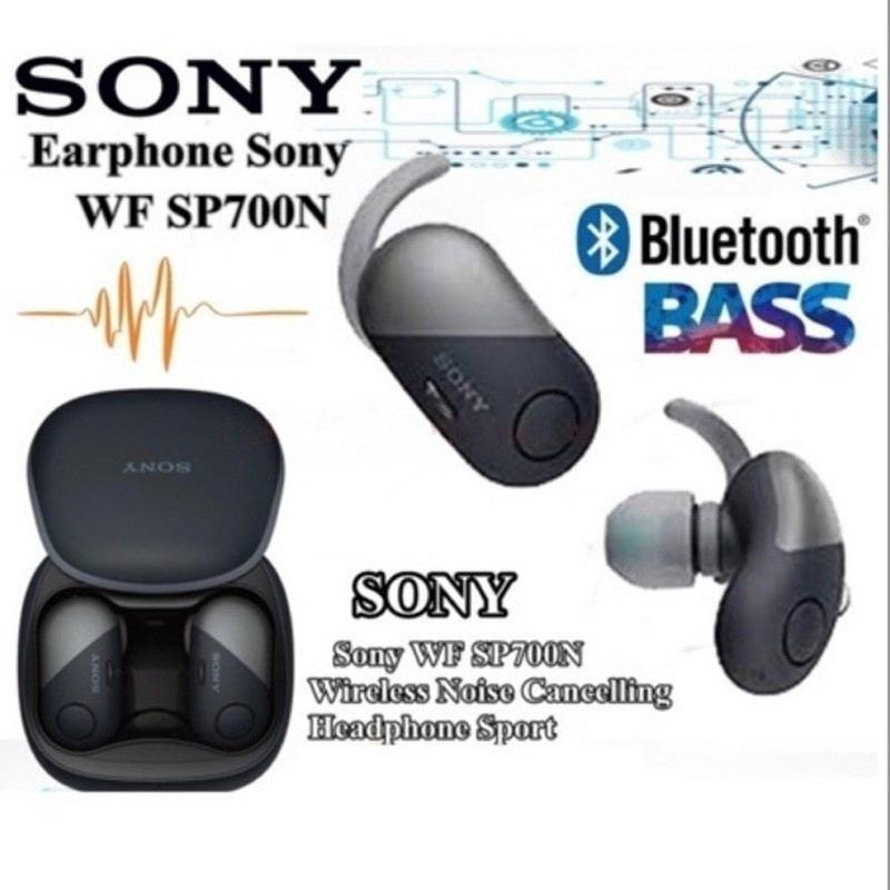 Sony Wf - Sp 700n True หูฟังไร้สายพร้อมกล่องชาร์จ bCro