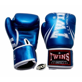 Twins Special Boxing Gloves FBGVS3 TW6 Blue Metallic