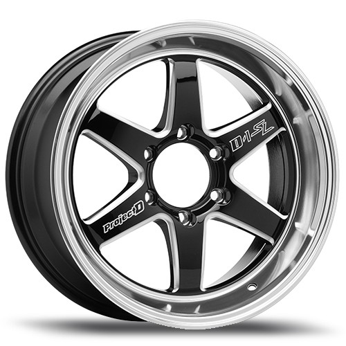 "Lenso Wheel ProjectD D1SL ขอบ 18x9.0"" 6รู139.7 ET+35 สีBKWMA แม็กเลนโซ่ ล้อแม็ก เลนโซ่ lenso18 แม็กรถยนต์ขอบ18"
