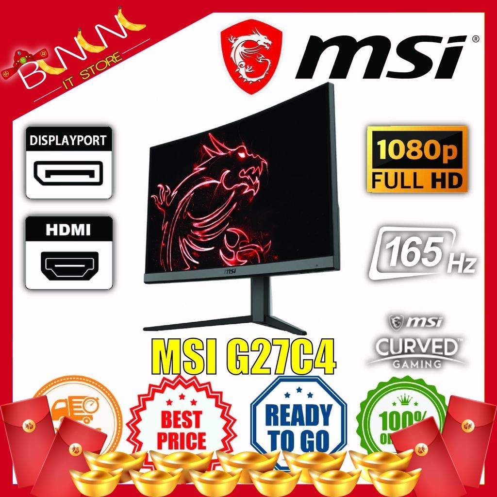 [Ready Stock] MSI Optix G241VC   G241   G24C4   G271   G27C4   MAG241C GAMING MONITOR, SIMILAR TO XV270P   G27G2