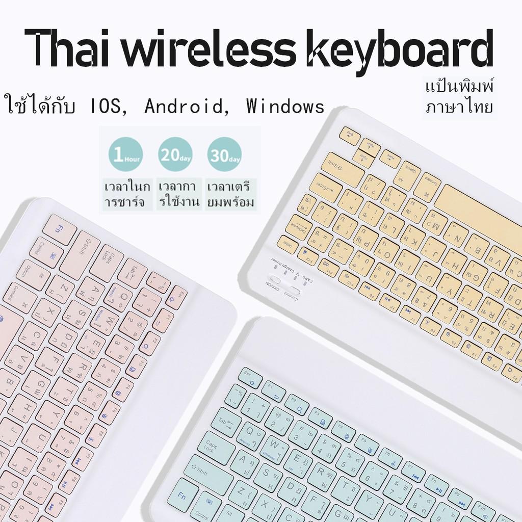 แป้นพิมพ์และเมาส์ไร้สายภาษาไทย
