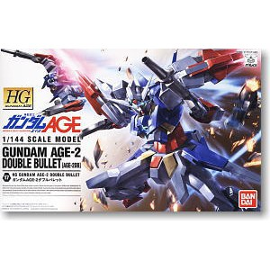 Gundam AGE-2 Double Bullet (HG) (Gundam Model Kits)