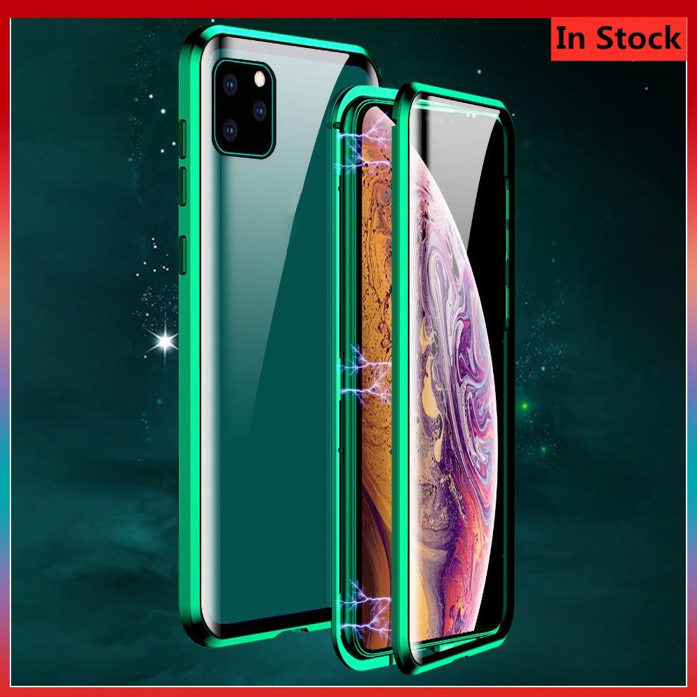 เคสโทรศัพท์มือถือกระจกสองด้านสําหรับ Iphone 11 Pro Max