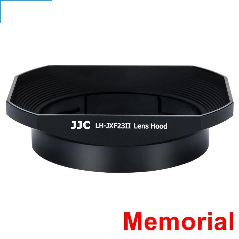 [ที่ระลึก] JJC Fuji LH-XF23 ฮูด XF 23 มม. f1.4 เลนส์ 56 มม. F1.2 R / XF56mm