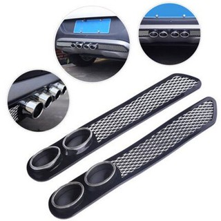 2Pcs Panel Side Louvers Vent Easy Install Rear Window For