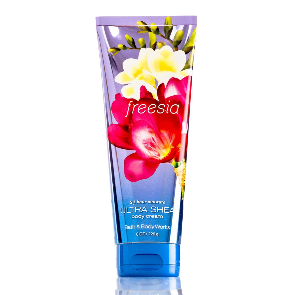BATH & BODY WORK BODY CREAM #Freesia