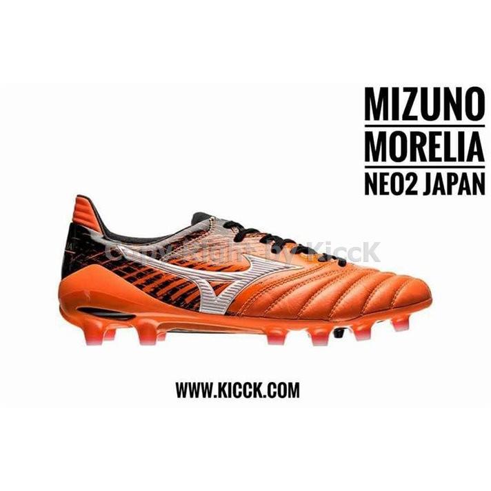 Mizuno Morelia Neo II (Orange/White/Black)