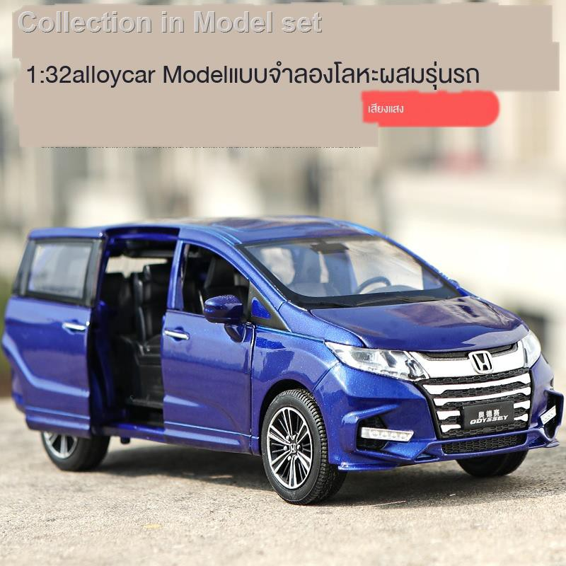 ▦✺ล้อแม็กจำลอง Honda Aode racing model sound car decoration children toy boy