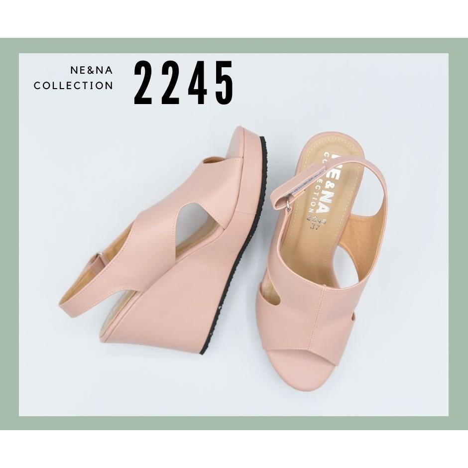 รองเท้าเเฟชั่นผู้หญิงเเบบคัชชูส้นสูง No. 2245 Pink NE&NA Collection Shoes