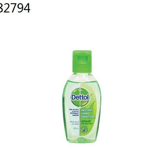 dettol เดทตอล ✧Dettol เดทตอล เจลล้างมือ หอมสดชื่นผสมอโลเวล่า❦