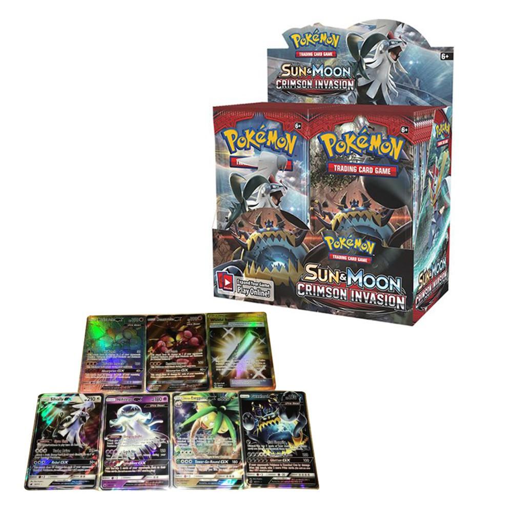 กล่อง Pokemon TCG Sun & Moon Crimson 36 ชิ้น 36 ชิ้น