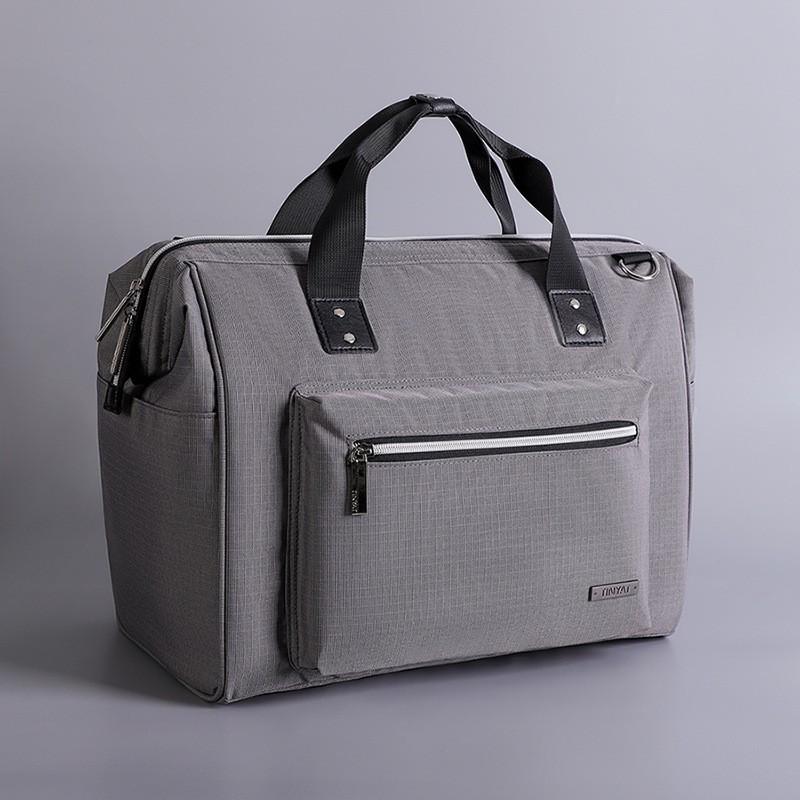 กระเป๋าเดินทางกระเป๋าเดินทางความจุสูง 14 นิ้วสําหรับผู้หญิง