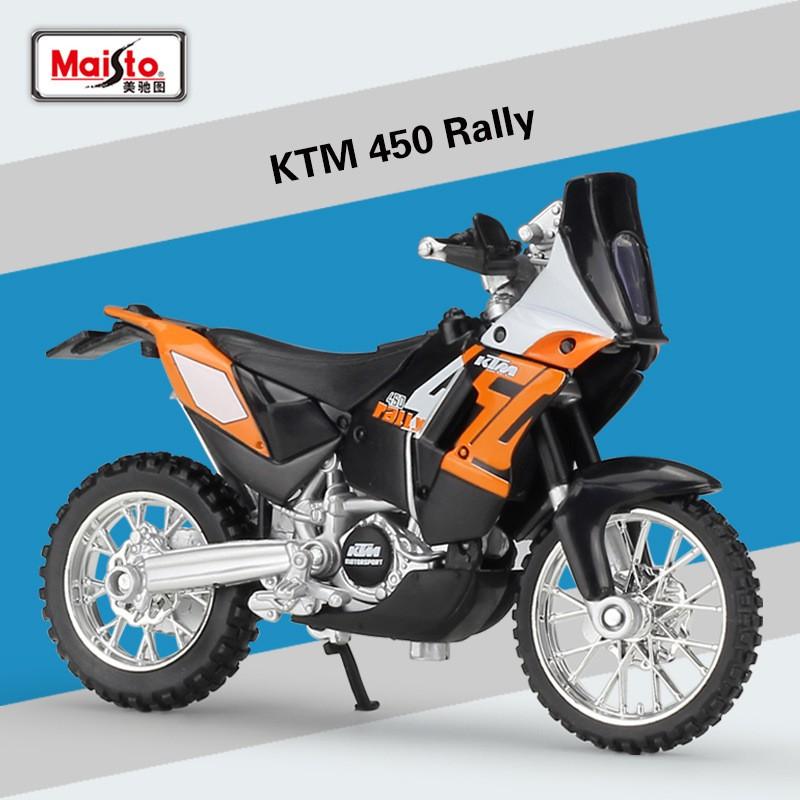 โมเดลรถจักรยานยนต์จําลองพร้อมฐานรองสําหรับ Garmin Figure 1 : 18 Ktm 450 Rally