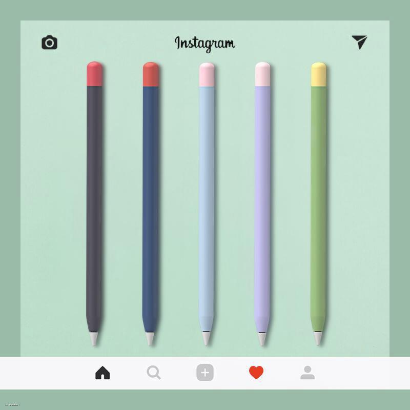 ปากกาสไตลัส♧۩ใช้ได้กับ Applepencil Pen Case รุ่นแรกและรุ่นที่สอง