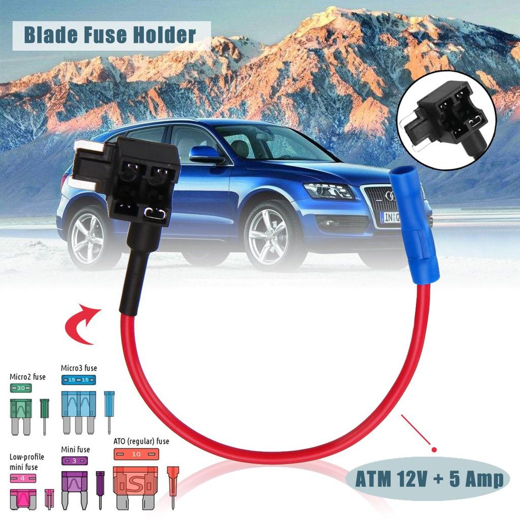 5x Standard Add A Circuit Fuse Box Holders Piggy Back Adaptor Car Mini  Blades Car Parts Vehicle Parts \u0026 Accessories [ 1024 x 1024 Pixel ]