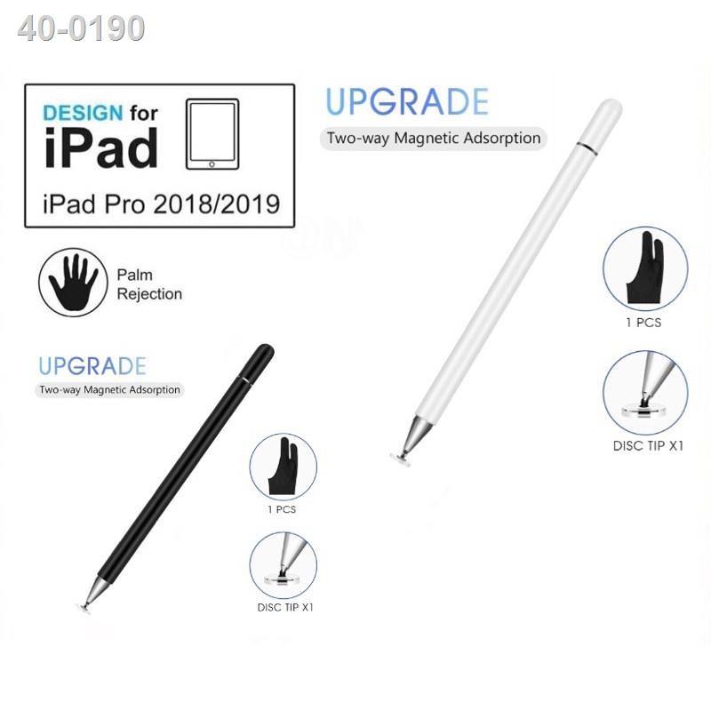 ☢[ปากกาipad]ปากกาไอแพด วางมือแบบApplePencil stylus ipad gen7 2019applepencil10.2 9.7 2018 Air3Pro11 2020 12.9งานแท้โรงงา