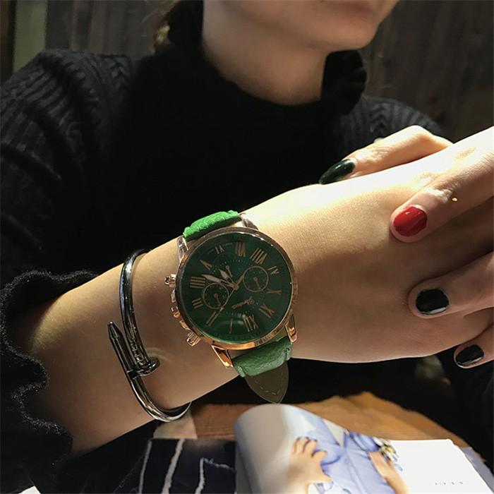 AMELIA GENEVA นาฬิกาแฟชั่น นาฬิกาข้อมือ นาฬิกา ผู้หญิง นาฬิกาควอตซ์ (พร้อมส่ง) AW149