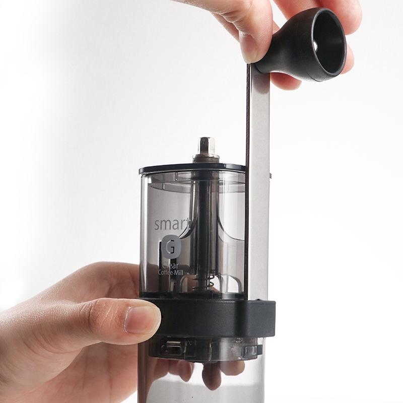 เครื่องทำกาแฟHARIO ญี่ปุ่นแบบพกพาเครื่องบดถั่วครัวเรือนบดเซรามิกมือเครื่องบดกาแฟเครื่องบดกาแฟผงชูรส