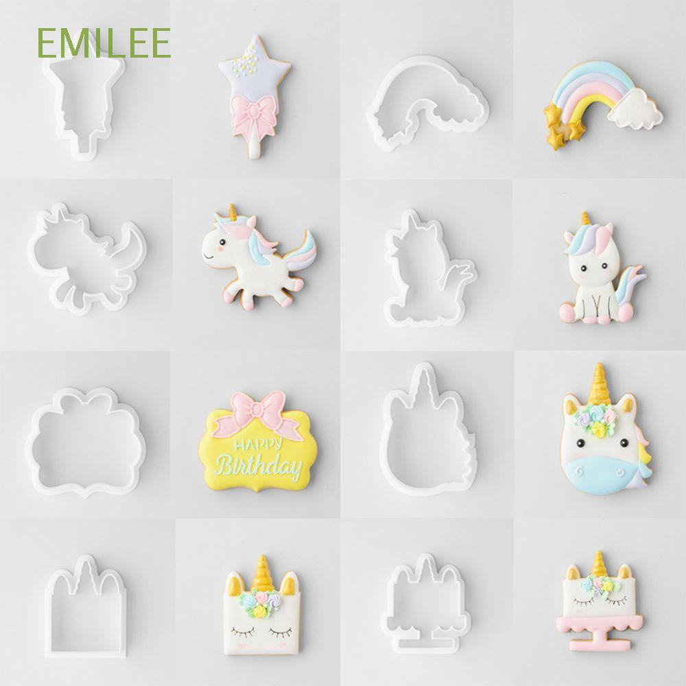 1Pc 3D Unicorn Head Silicone Mold Fondant Chocolate Mould Cake Baking Decor Tool