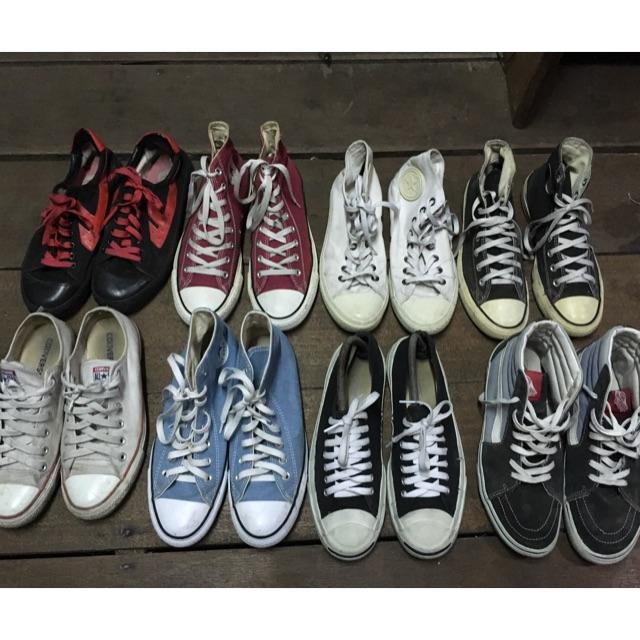 รองเท้ามือสอง Converse Vans Warrior