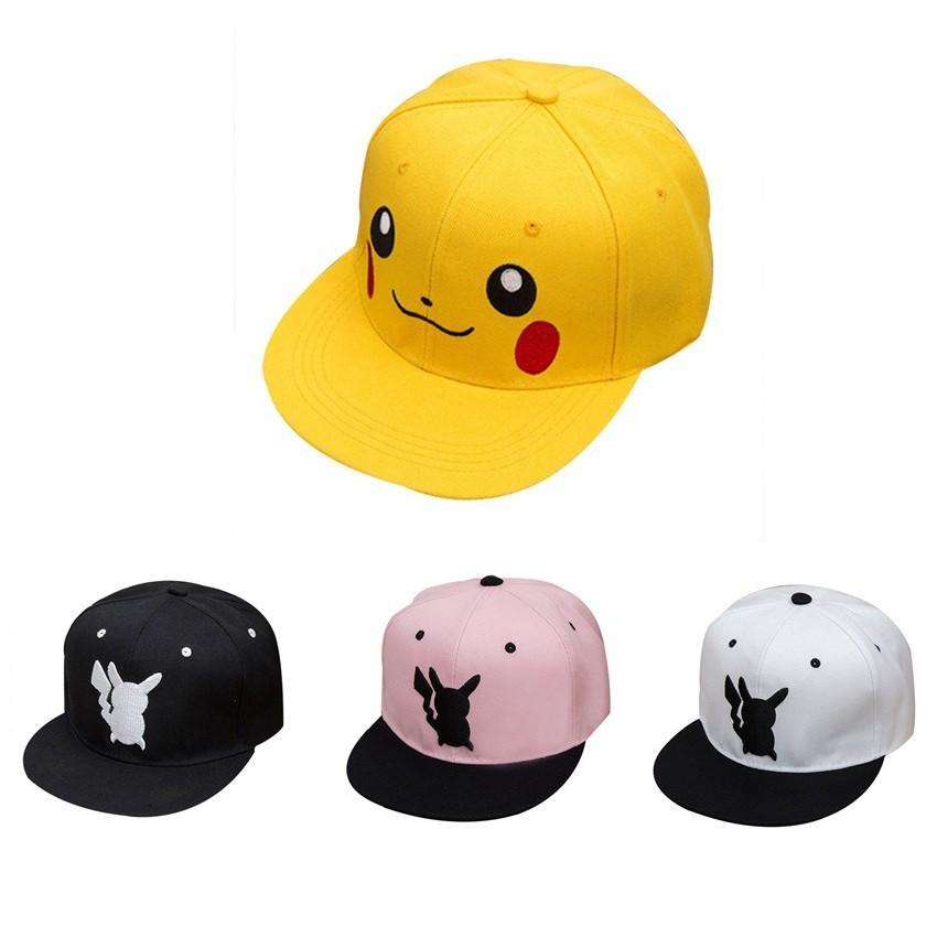 Pokemon Go Pikachu Cotton Baseball Caps Sport Hat Women Men  7b61c48c4a23