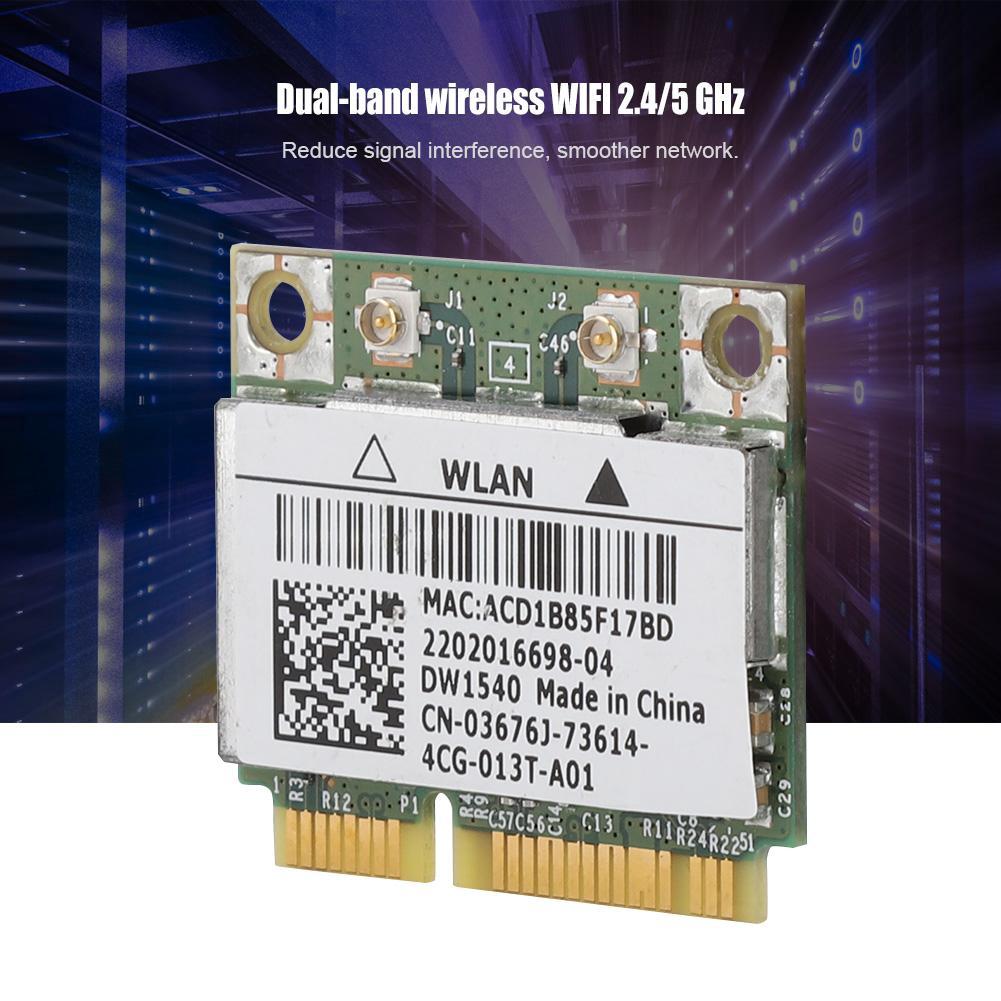 For Dell Broadcom BCM943228HM4L DW1540 Dual-Band Mini PCI-e Wifi Card  802 11 a/b/g/n