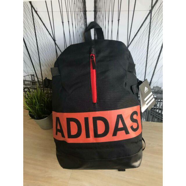 8fc9e758fdfa Adidas Backpack 2018 กระเป๋าเป้ใบใหญ่ วัสดุผ้า canvas
