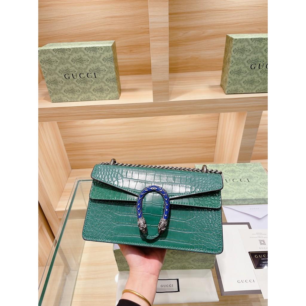 กระเป๋าของแท้Original Gucci Dionysus Alessandro Chain Bag Shoulder Bag For Women Bags
