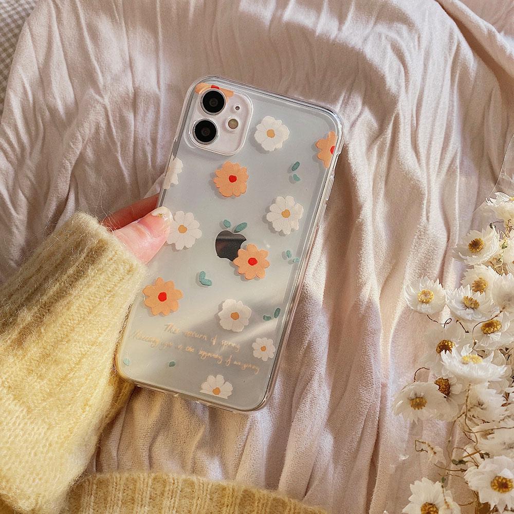 Creative little flowers soft case Samsung A8+ 2018/A8Plus A8 2018 A7 2018 A6+ 2018/A6Plus A6 2018 A9 2018 A7 2017/A720 A5 2017/A520 A3 2017/A320 J8 2018 J6 2018 J6Plus/J6+ J4 2018 J4Plus/J4+ J7Plus J7Pro/J7 2017 J7Prime J710/J7 2016 Note9 Note10 NOTE10+