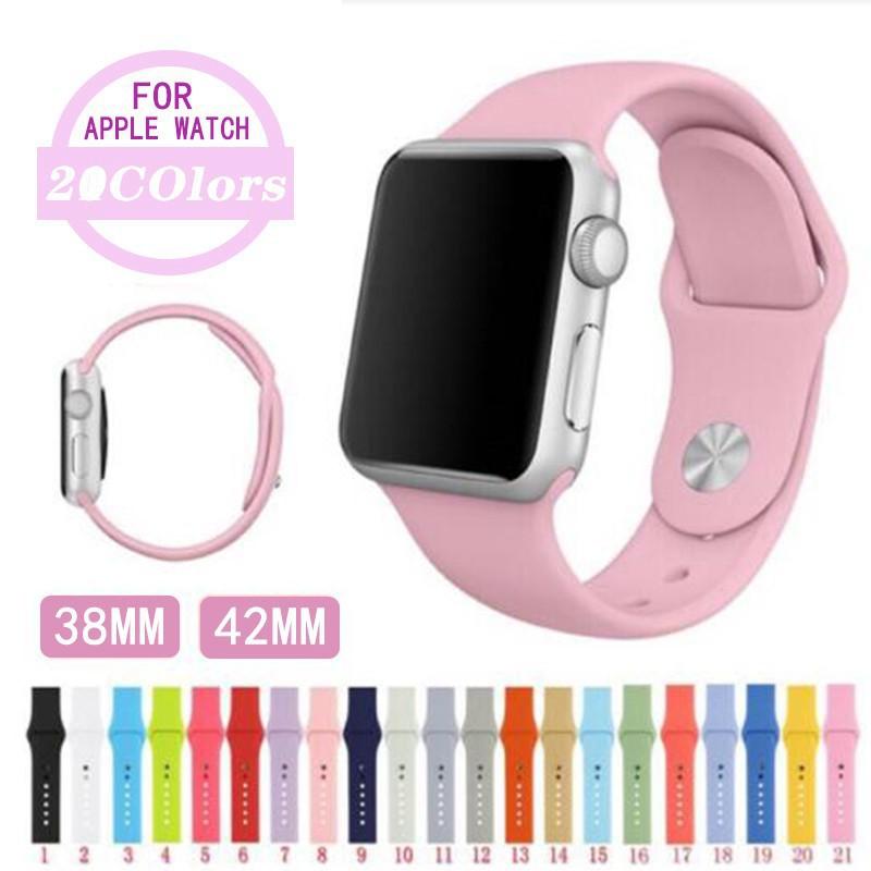 สาย applewatch สายนาฬิกา applewatch [ยาวM/L] สาย Apple Watch Sport Band สายยาว ซิลิโคน