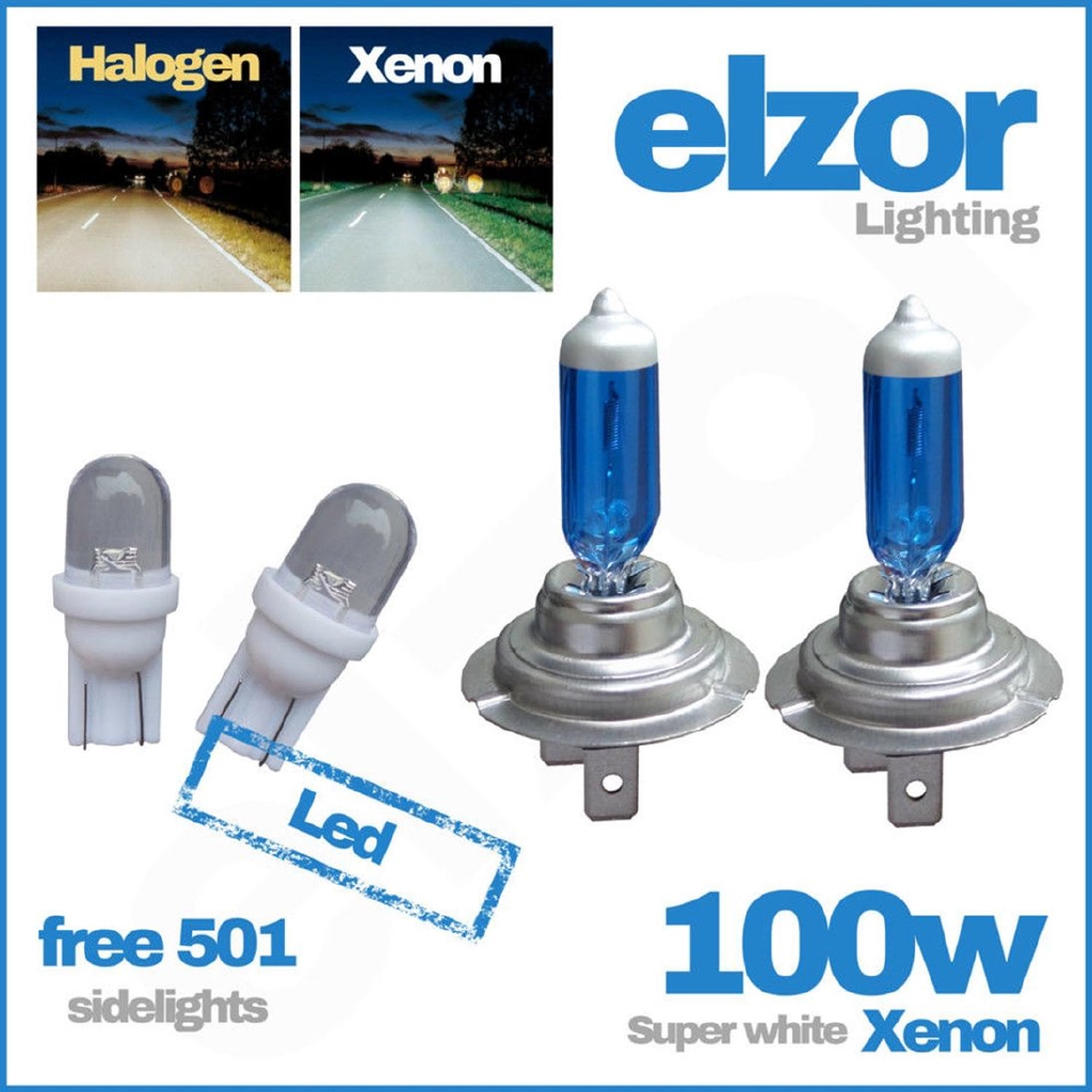 XENON 55W 12V HI-Lo-FOG beam Bulbs H7 H7 H11 W5W HEADLIGHT C