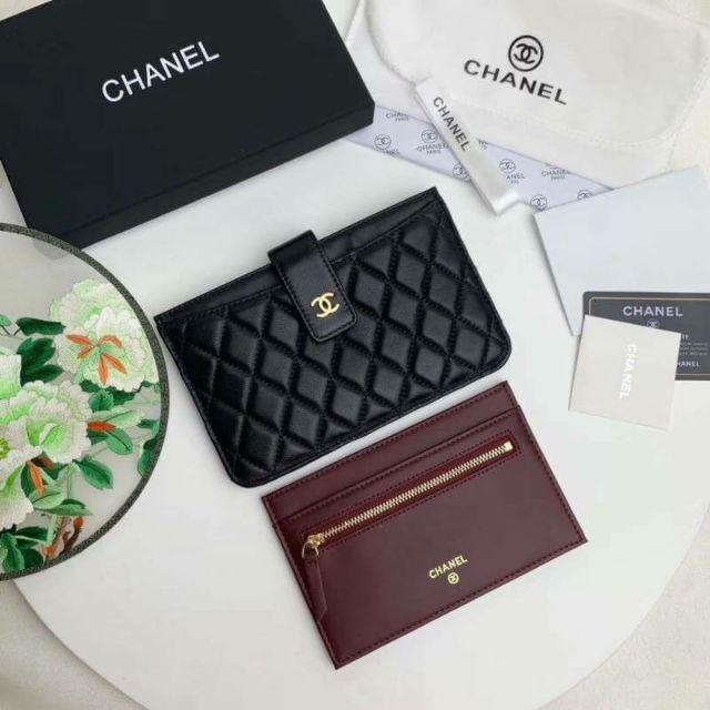Chanel Card Holder Hiend1:1 Size 19cm.