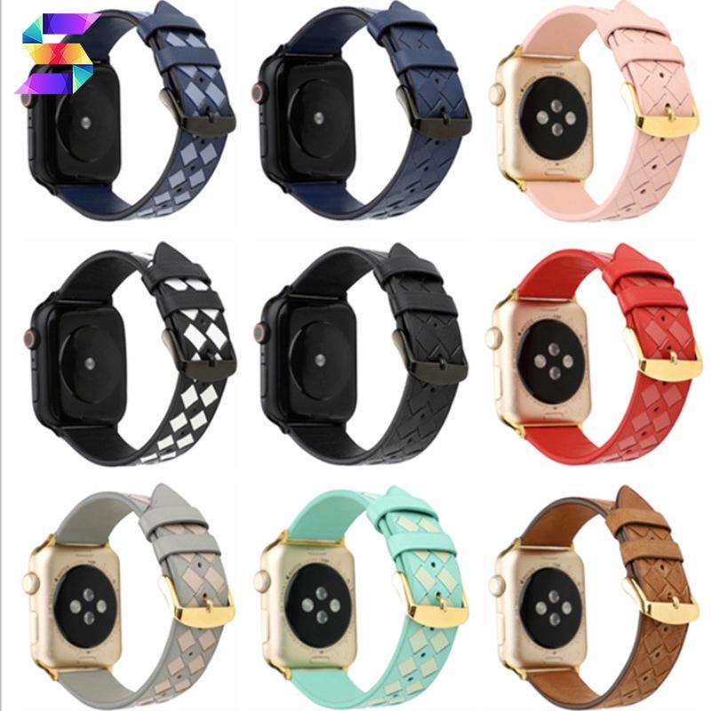 Smt Applewatch สายนาฬิกาข้อมือสายหนังแฮนด์เมด