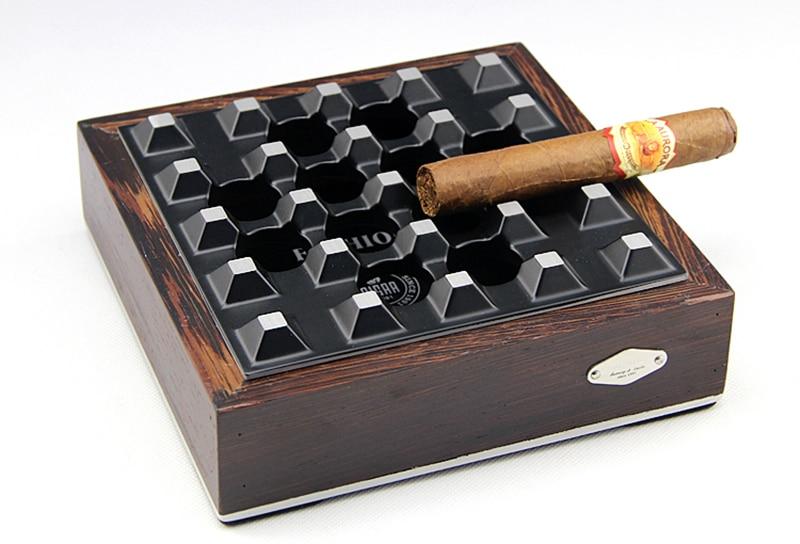 Cigar Ashtray Cigarette Holder Ashtray Honeycomb Hole Originality Personality Portable Travel Use Cigar Ashtrays