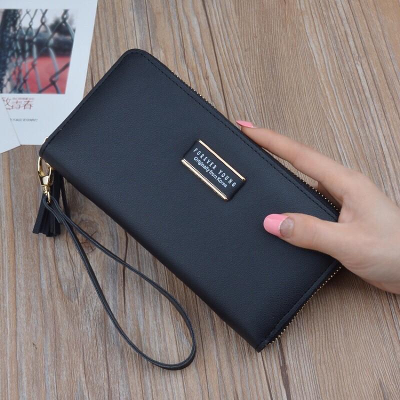7?กระเป๋าสตางค์ใบยาวForever young (w-002)