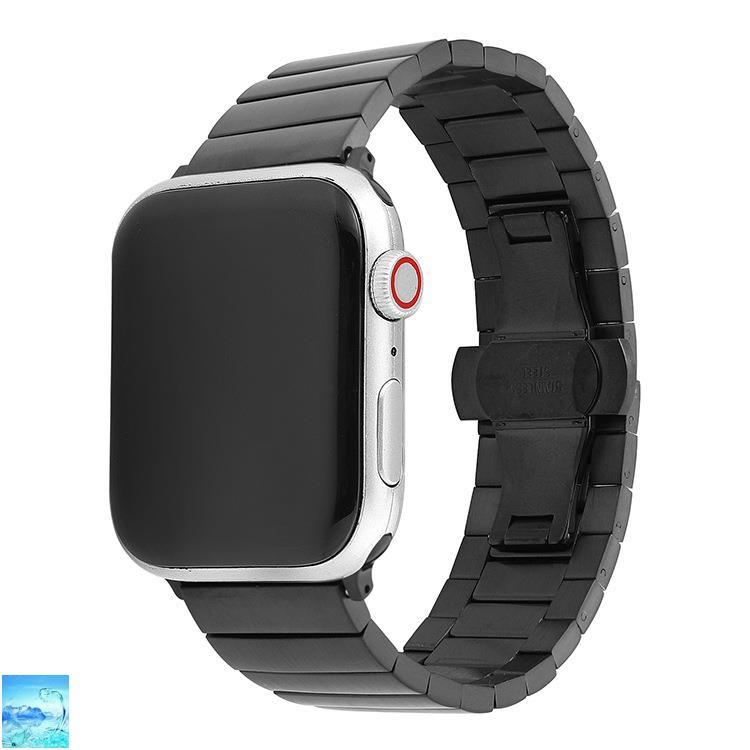 ( In Spot ) สายนาฬิกาข้อมือสแตนเลสสําหรับ Applewatch123456Se