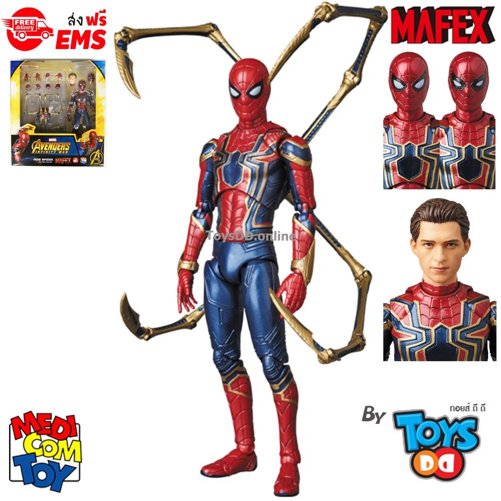 Marvel Avengers 3 Infinity War Iron Spiderman Spider-Man Action Figure Toys 6
