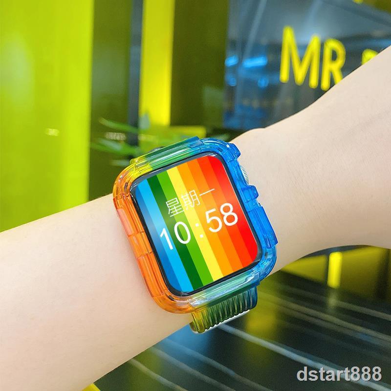 สายนาฬิกาข้อมือลายการ์ตูนสําหรับ Applewatch 6 Applewatch 5