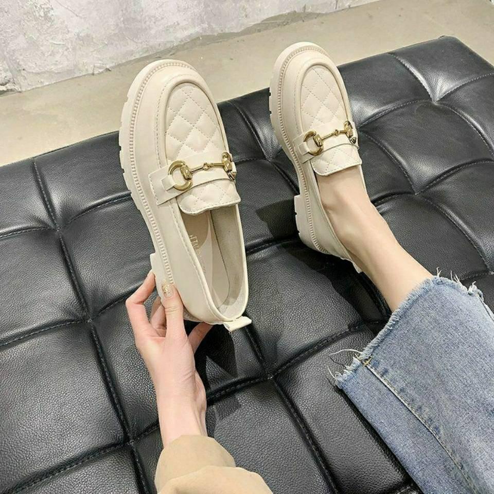 รองเท้าคัชชู ร้องเท้า รองเท้าผู้หญิง ◈2021 ใหม่รองเท้าเด็กหลายร้อยนักเรียนรองเท้าหนังขนาดเล็กเด็กสบาย ๆ เท้าก้านถั่วรองเ