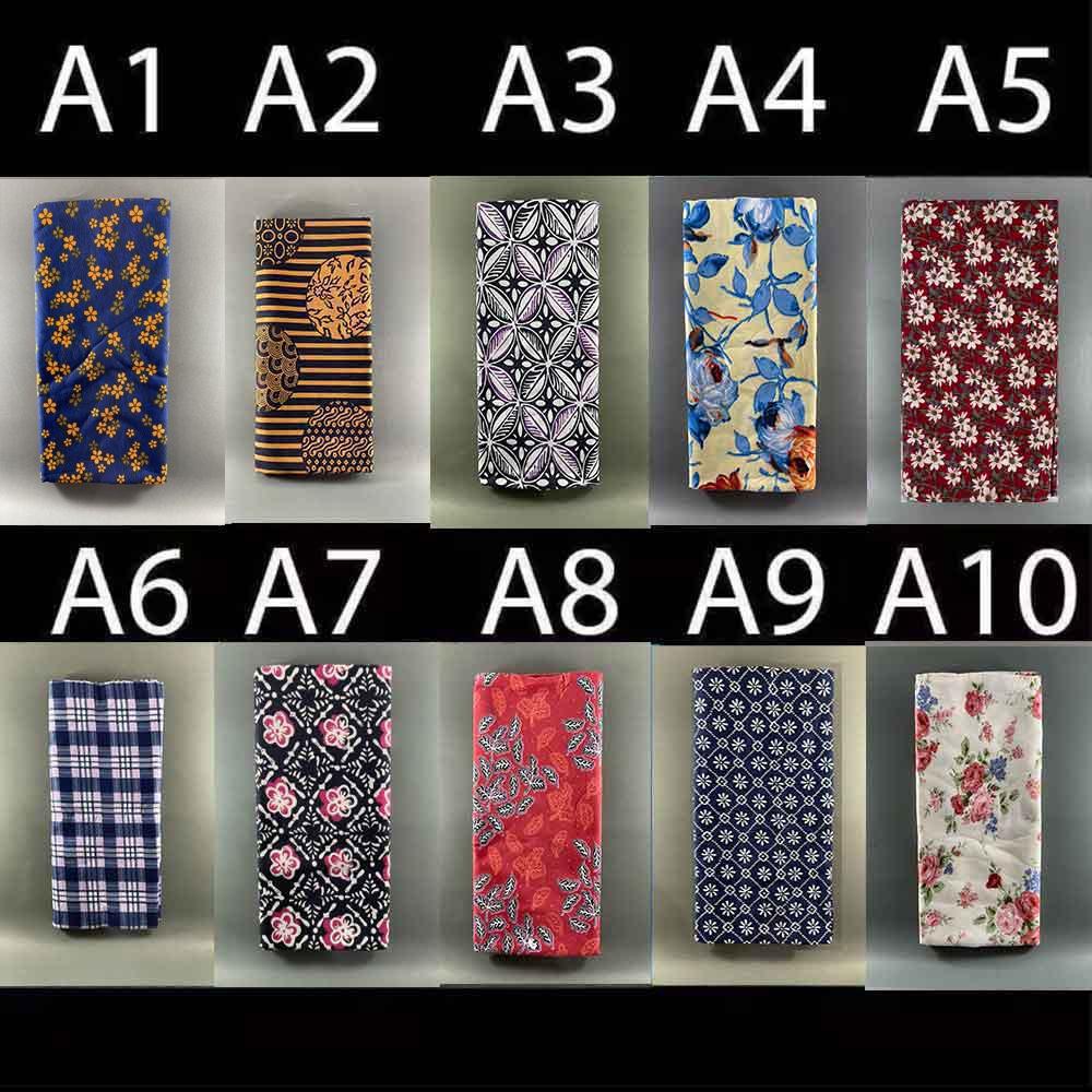 ผ้าถุงคุณภาพดี ผ้าถุงลาย ผ้าบาติก ผ้าถุงปาเต๊ะ batik กว้าง 2 เมตร เย็บเรียบร้อย V.1 ? มีเก็บเงินปลายทางนะคะ?