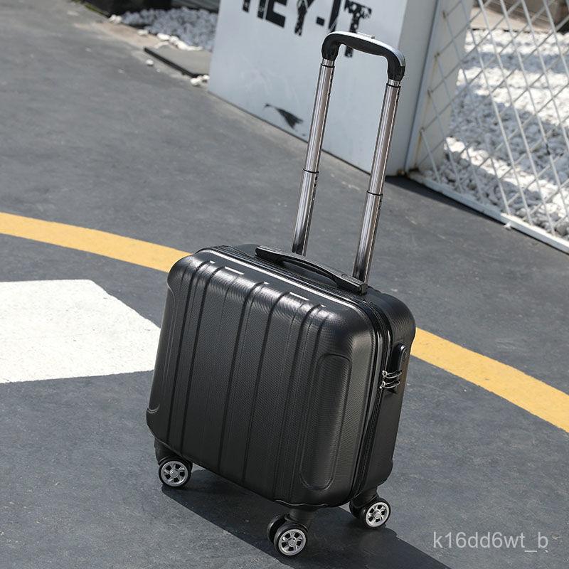 กระเป๋าเดินทาง กระเป๋าเดินทางล้อลาก14-กระเป๋าใส่เครื่องสำอางค์ขนาดพกพานิ้ว18นิ้วกระเป๋าเดินทางขนาดเล็กกระเป๋าเดินทางหญิง