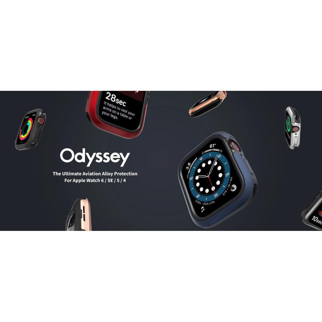 อุปกรณ์สวมใส่ อุปกรณ์สวมใส่ข้อมือ Switch Easy Odyssey Case For Apple Watch 40MM/44MM Series 4-5-6-SE เคสกันกระแทกของแท้