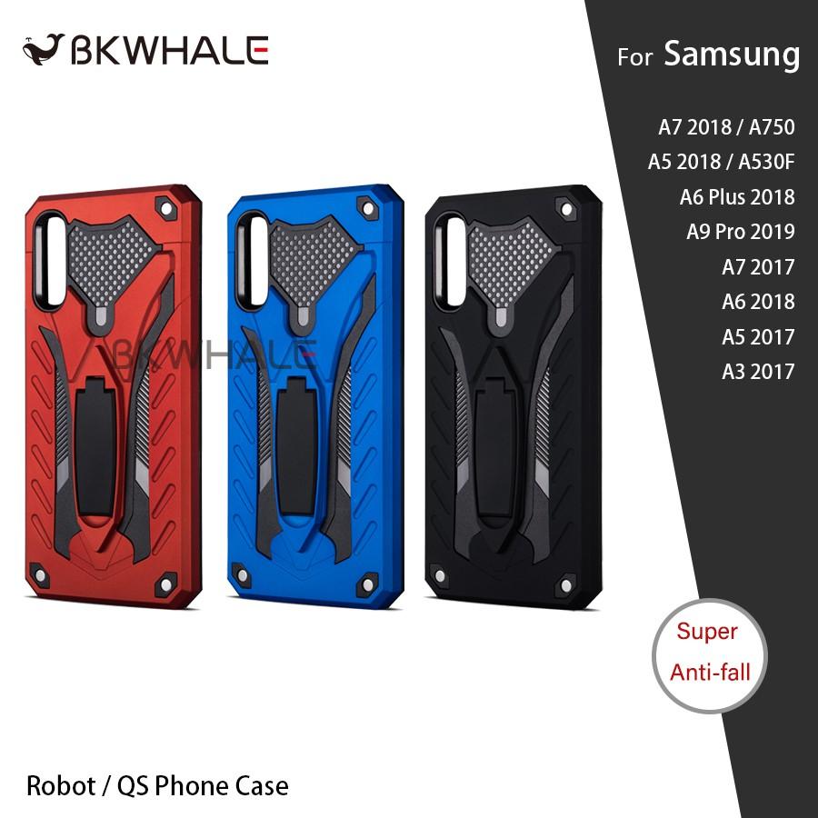 BKWhale QS Case เคส Samsung Galaxy A7 2018 A7 2017 A5 2018 A5 2017 A6Plus A6 Plus 2018 A3 2017 A9Pro A9 Pro 2019 A750 A5