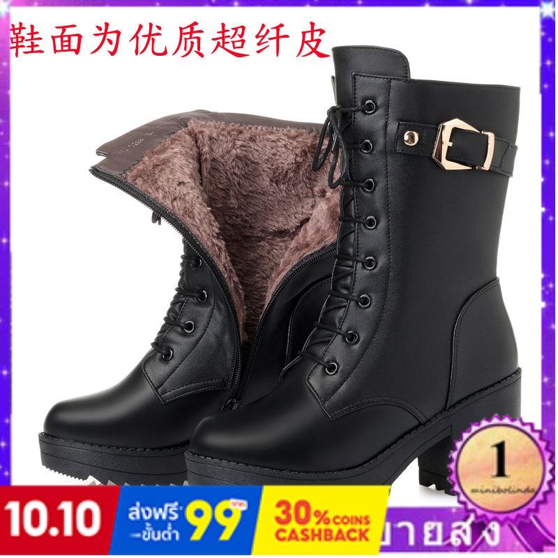 ⭐👠รองเท้าส้นสูง หัวแหลม ส้นเข็ม ใส่สบาย New Fshion รองเท้าคัชชูหัวแหลม  รองเท้าแฟชั่นรองเท้าผู้หญิงขนสัตว์รองเท้าหนังมาร