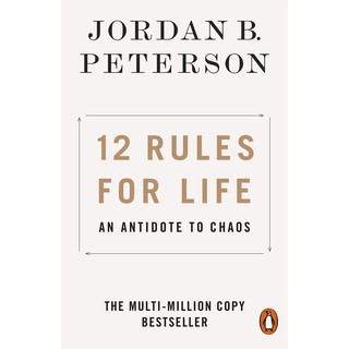 Review Asia Books หนังสือภาษาอังกฤษ 12 RULES FOR LIFE: AN ANTIDOTE TO CHAOS
